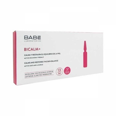 Babe BABE Bicalm+ 10 x 2 ml Ampul - Yatıştırıcı ve Onarıcı Etkili Konsantre Bakım Renksiz
